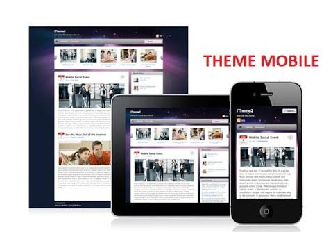 Theme Mobile for Website wordpress