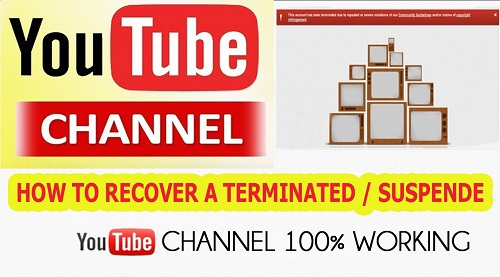 How to recover a terminated YouTube account