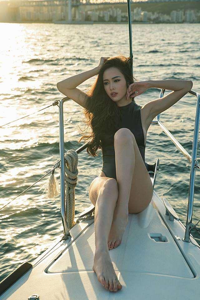 Ảnh bikini Vũ Ngọc Anh đẹp hay không nhỉ