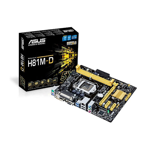 Bo mạch chủ  Mainboard ASUS H81M-D