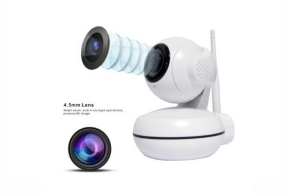 Camera Sanan HD Wireless P/T Cloud IP 2.0 Megapixel