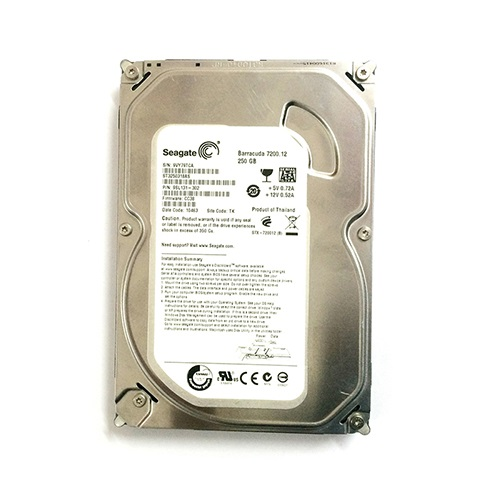 Ổ cứng Seagate Barracuda 250GB, 7200 RPM, Cache 8MB