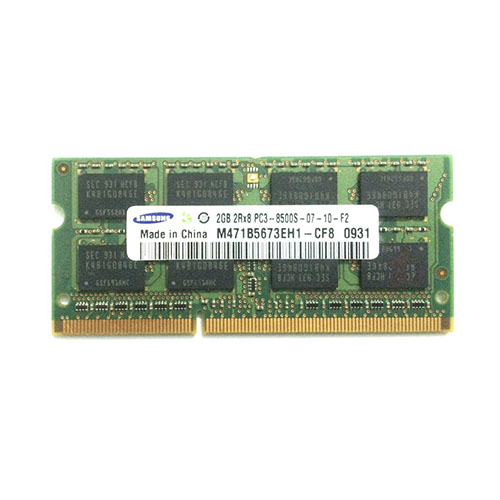 Ram Laptop Samsung DDR3 2GB,  PC3-8500