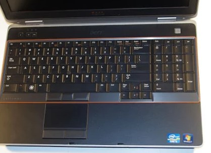 Laptop Dell Latitude E6520, Core I5 2520M @ 2.50GHz, Ram 4GB,Hdd 250 GB