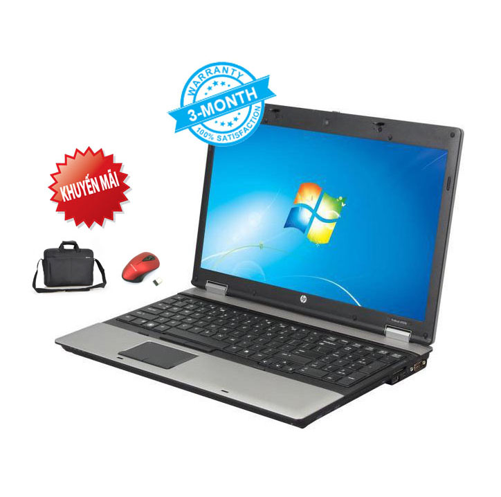 Laptop HP Probook 6555b Turion II P520, Ram 2Gb, HDD 120Gb