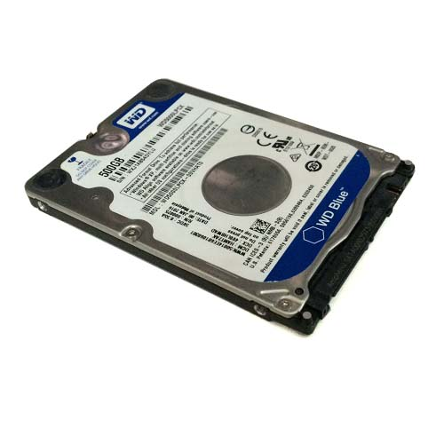 HDD Western 500GB Digital Scorpio Blue, 5400rpm, 8Mb Cache, Sata 3 (WD5000BEVT)